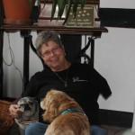 Bild Cirsten mit Hund